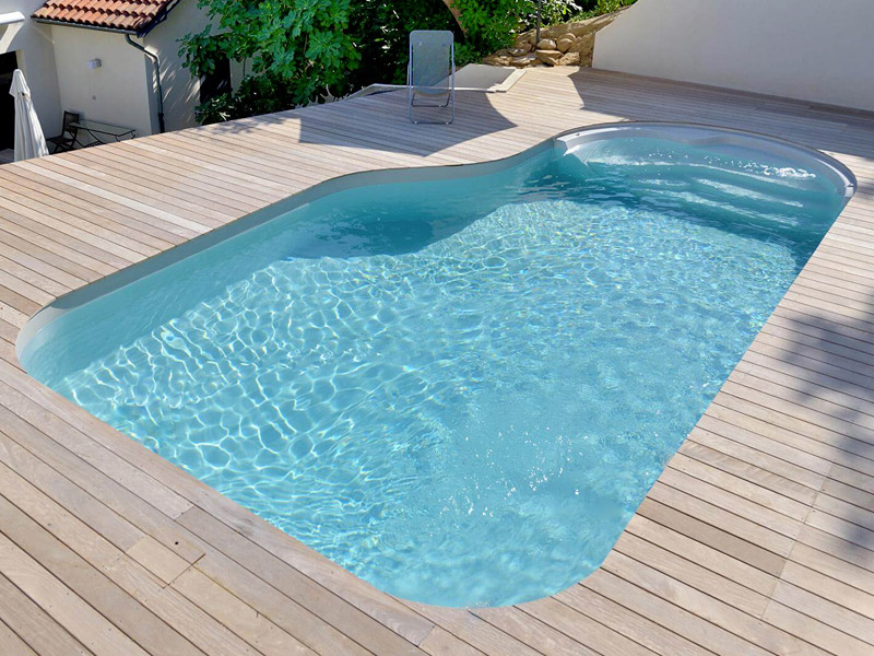 piscine forme rectangle waterair GGILPRO clea