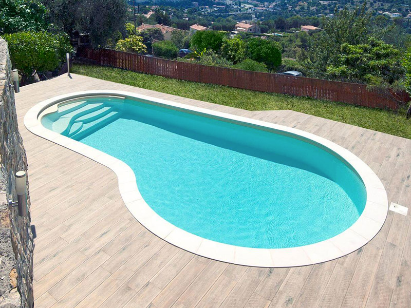 piscine forme rectangle waterair GGILPRO emma