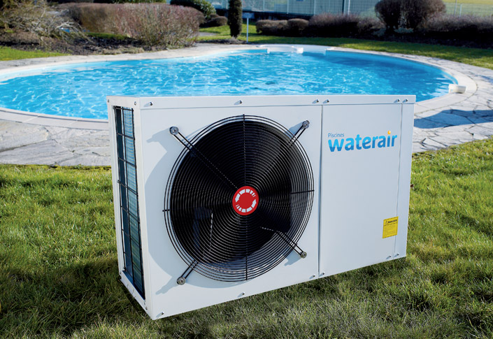 heat pump for pool in Belgium